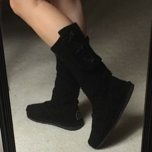 BearPaws Knit Sweater Style Boots